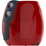 Fritadeira Sem Óleo Multifuncional Cadence Vermelho 127 Volts