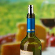 Tampa Vedador para Vinho Tipo Bala em Aço Inox