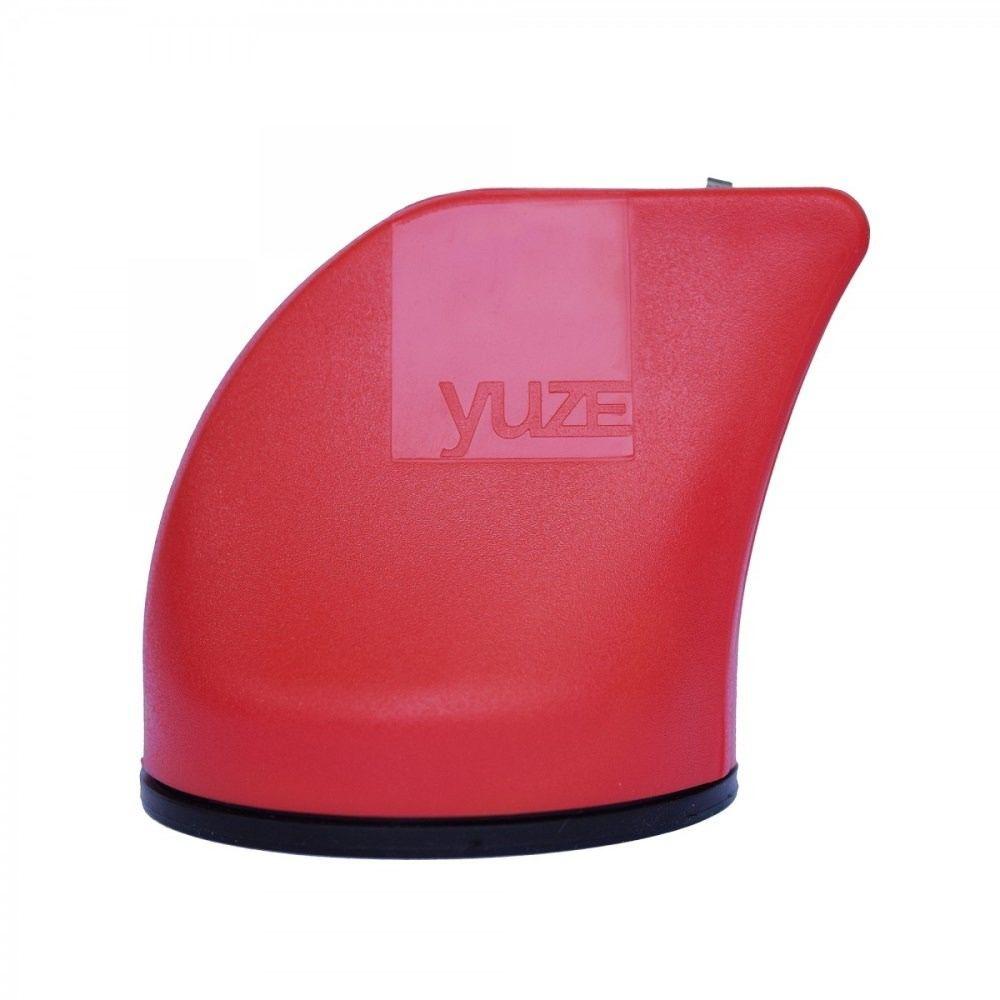 Afiador de Facas Yuze com Ventosa Vermelho