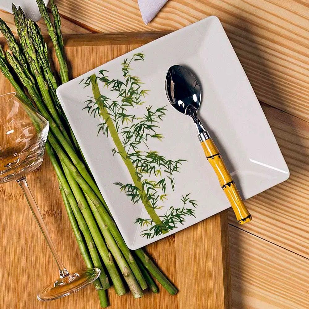 Aparelho de Jantar e Chá Oxford Quartier Bamboo 30 Peças