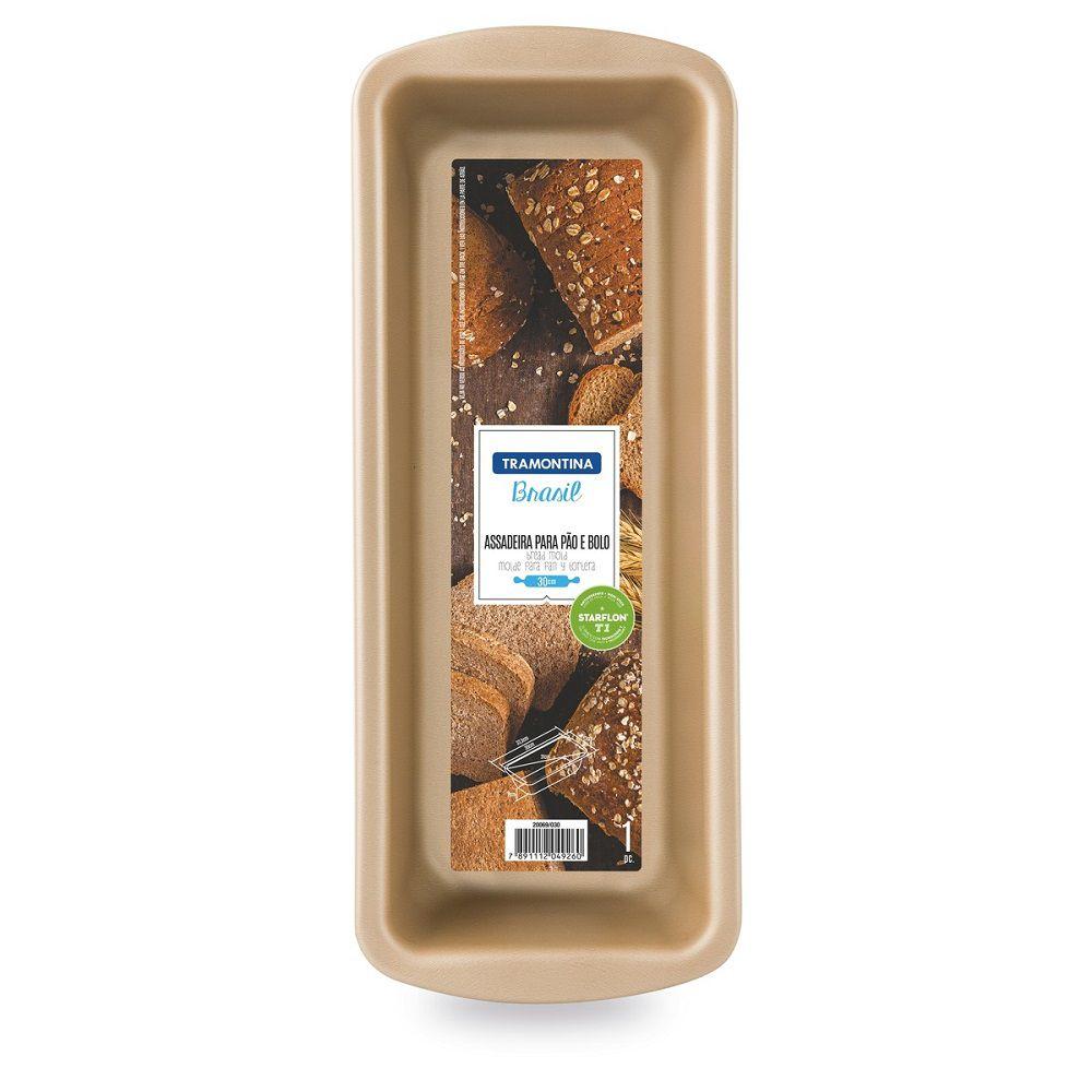 Assadeira Tramontina para Bolo e Pão Vermelha 30 cm