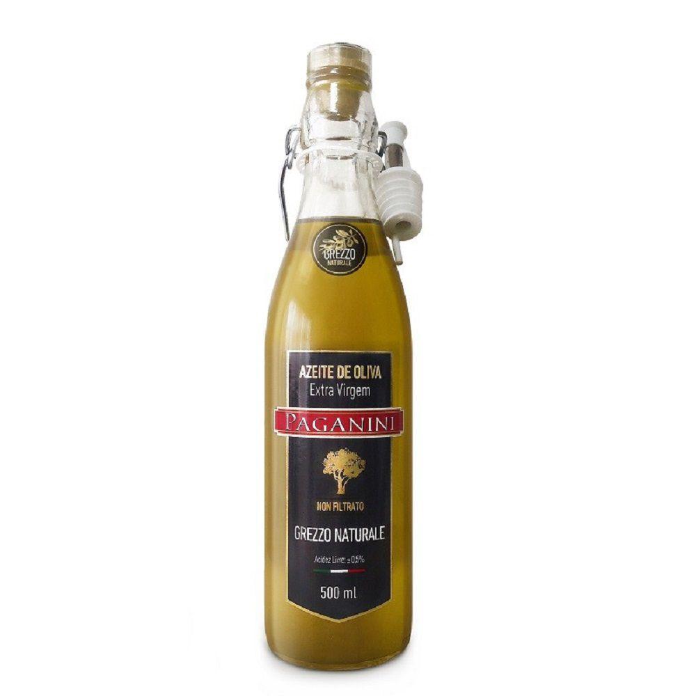 Azeite de Oliva Paganini Extra Virgem Grezzo Naturale 500ml