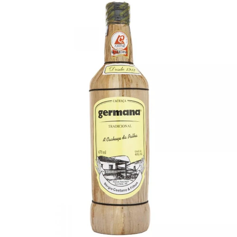 Cachaça Ultra Premium Germana 670ml