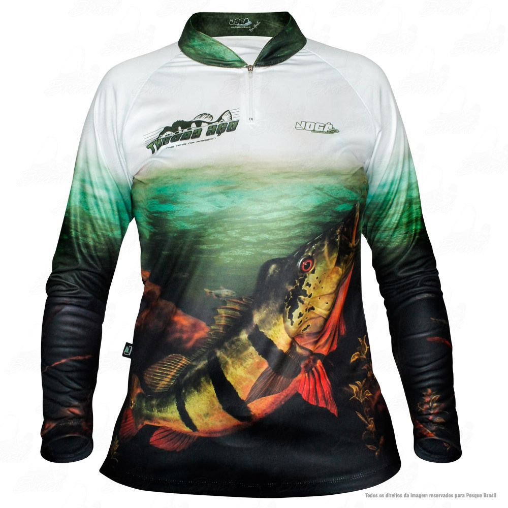 Camisa de Pesca Tucuna Açu Tamanho P Jogá