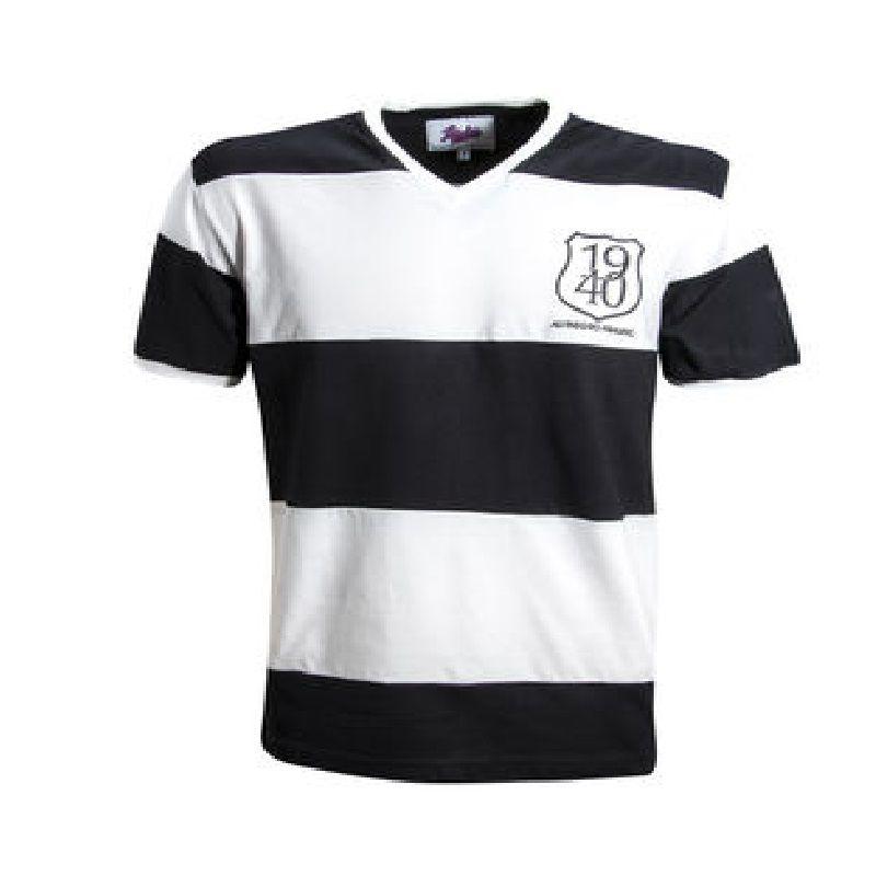 Camisa Retrô Alvinegro Praiano Santos 1940