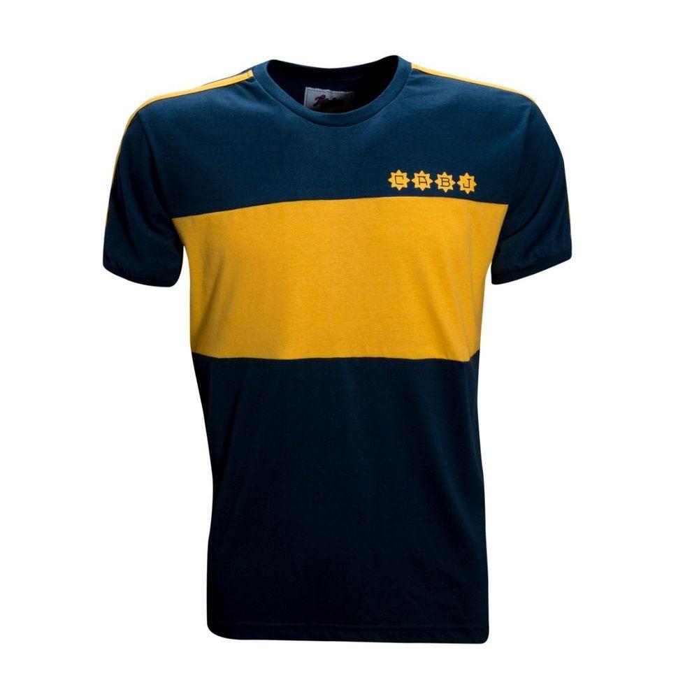 Camisa Retrô Boca Juniors 1981