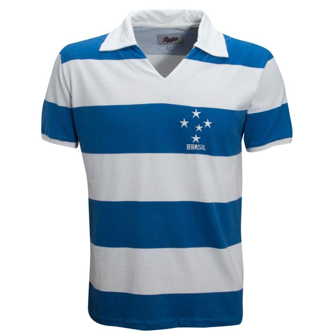 Camisa Retrô Brasil Seleção Celeste 1956