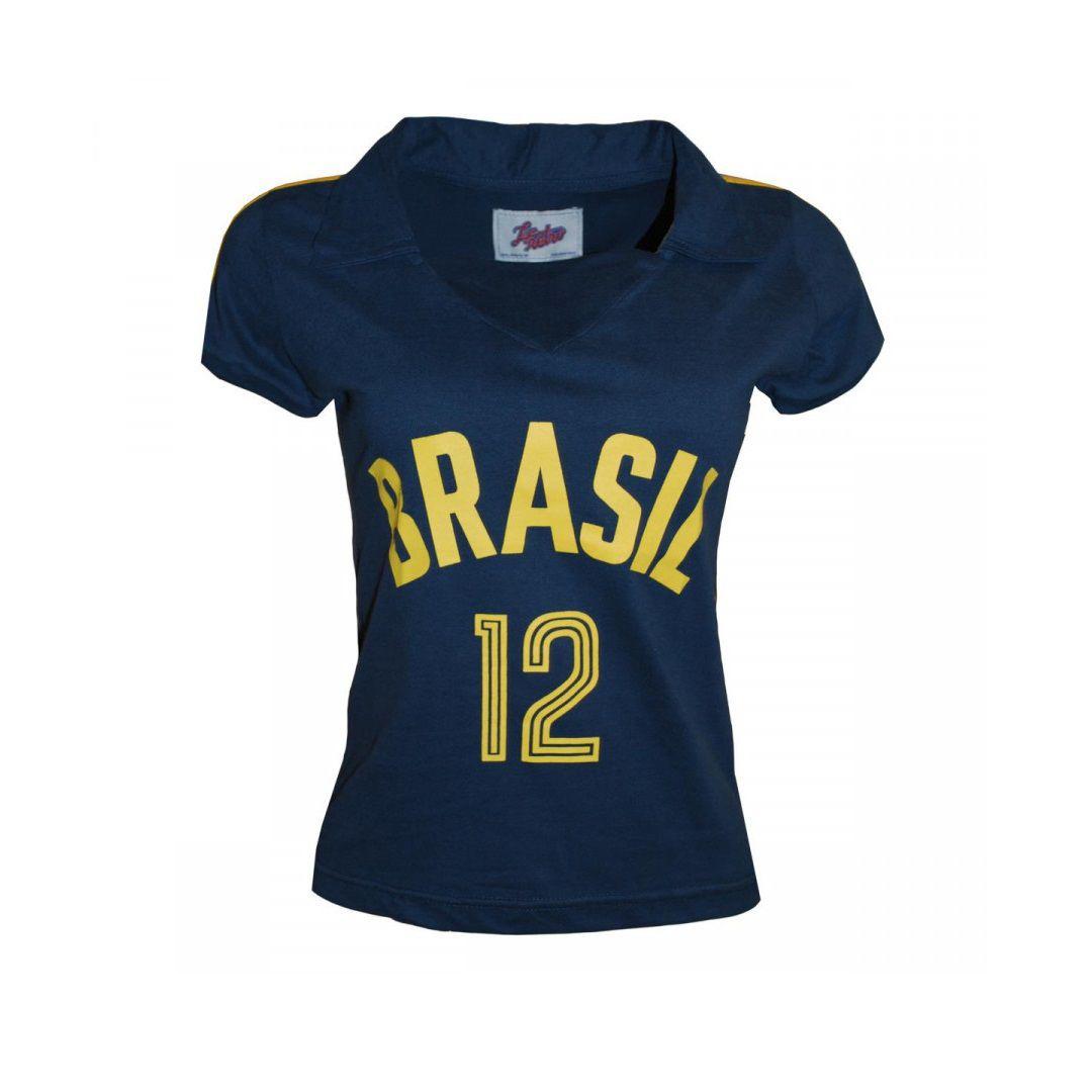 Camisa Retrô Brasil Vôlei Feminino 1984