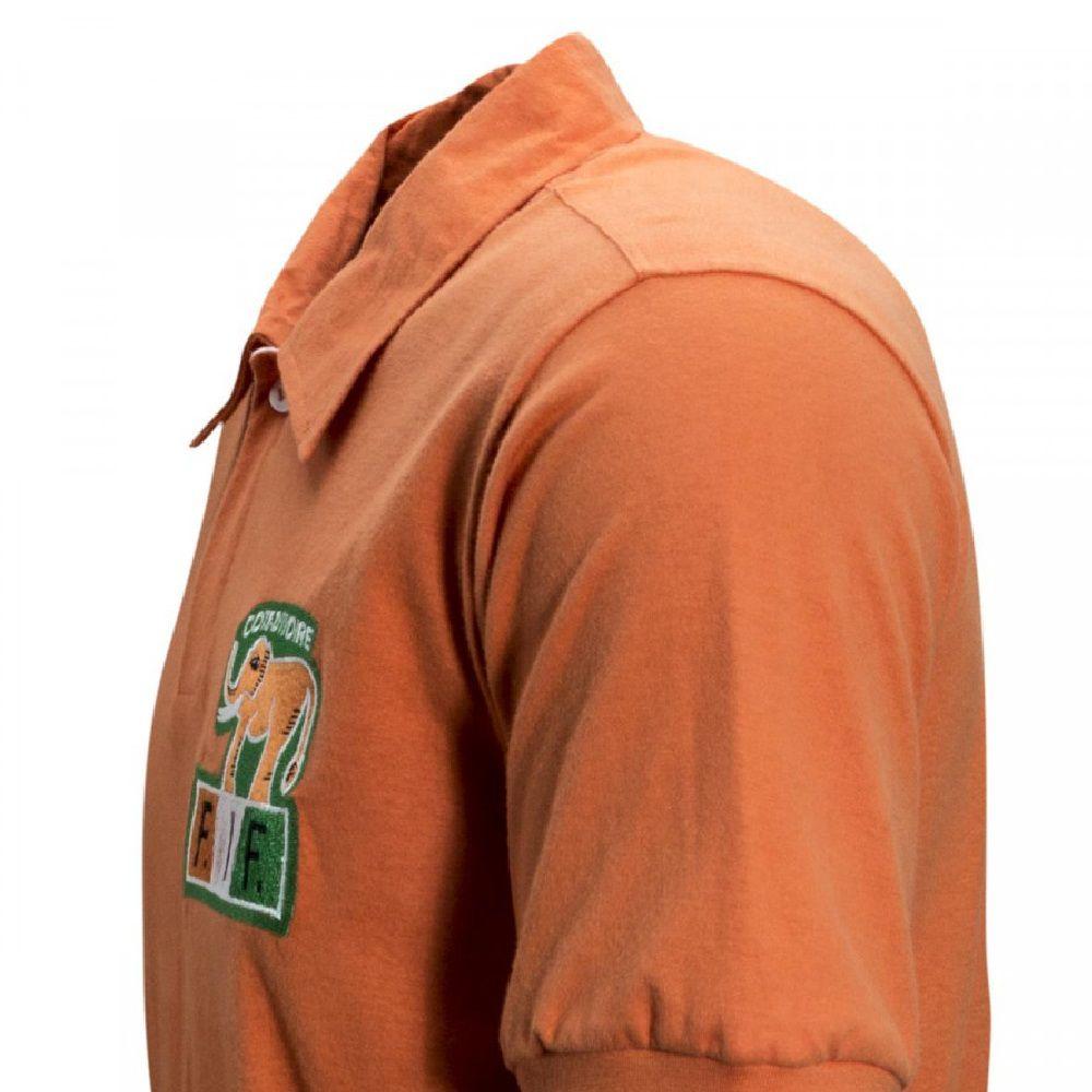 Camisa Retrô Costa do Marfim 1980