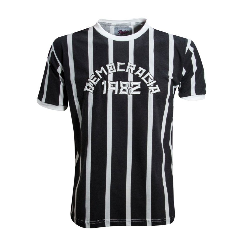 Camisa Retrô Democracia Corinthiana 1982