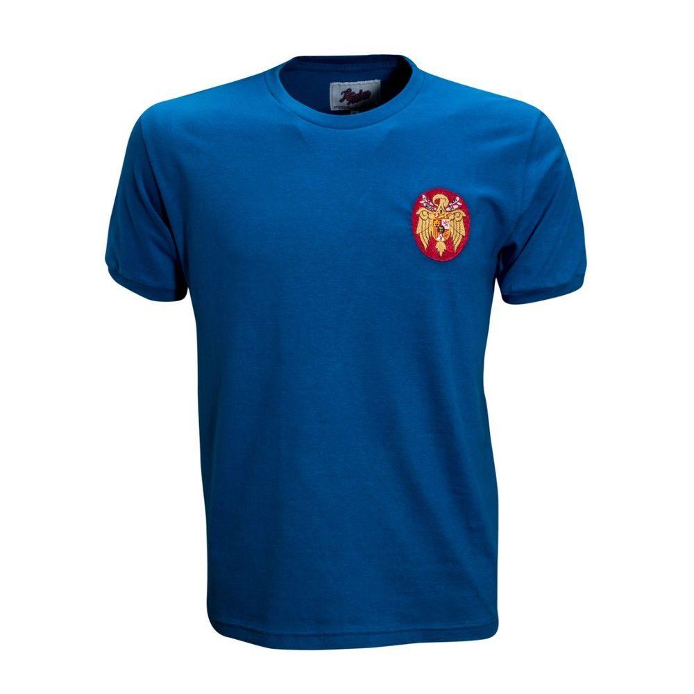 Camisa Retrô Espanha Seleção de 1964