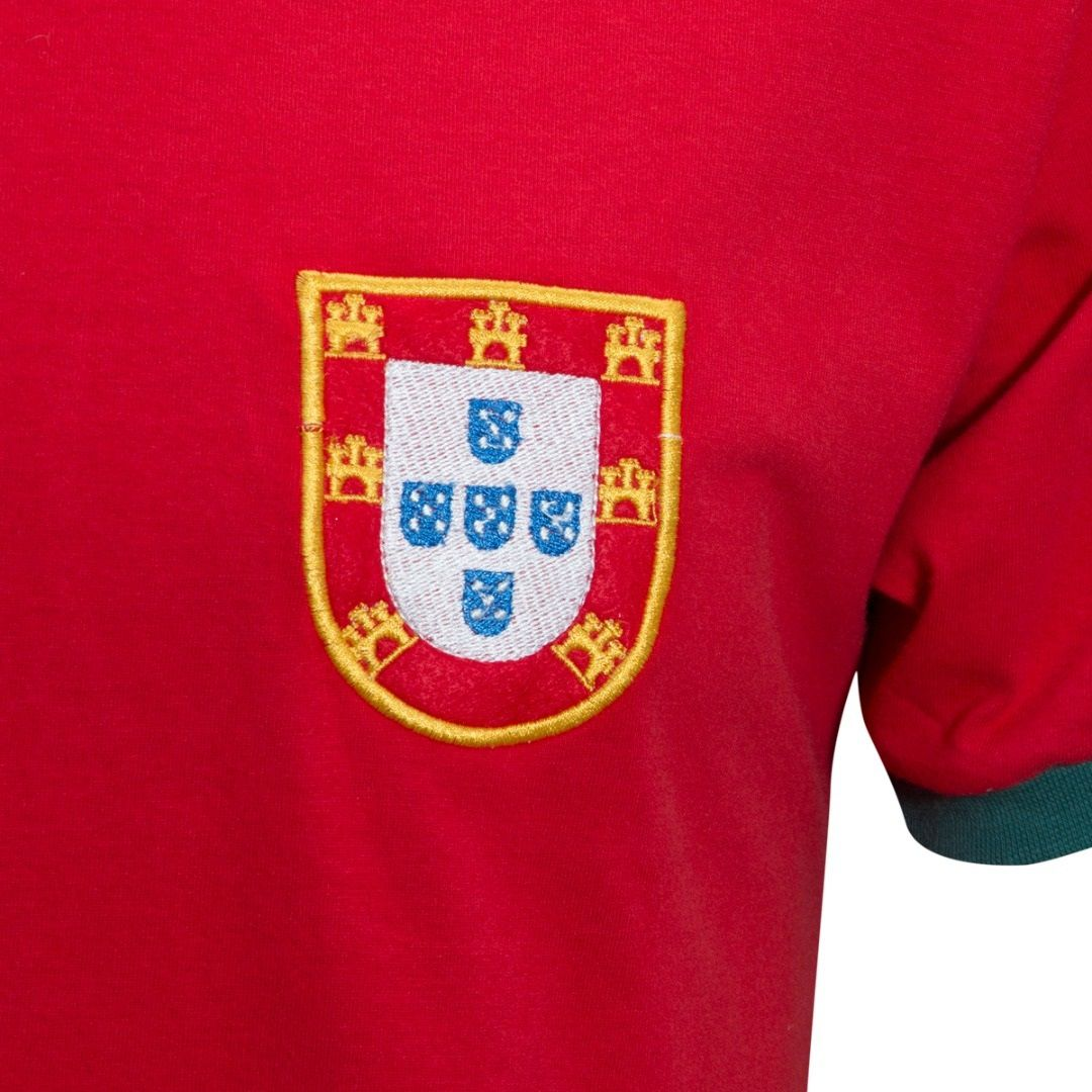 Camisa Retrô Portugal Seleção 1960