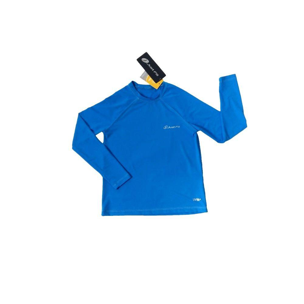 Camiseta com Proteção UV 50+  Just Fit Manga longa Infantil