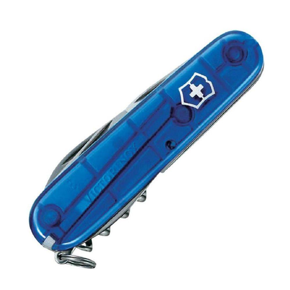 Canivete Suíço Victorinox Spartan Azul Translúcido 12 Funções