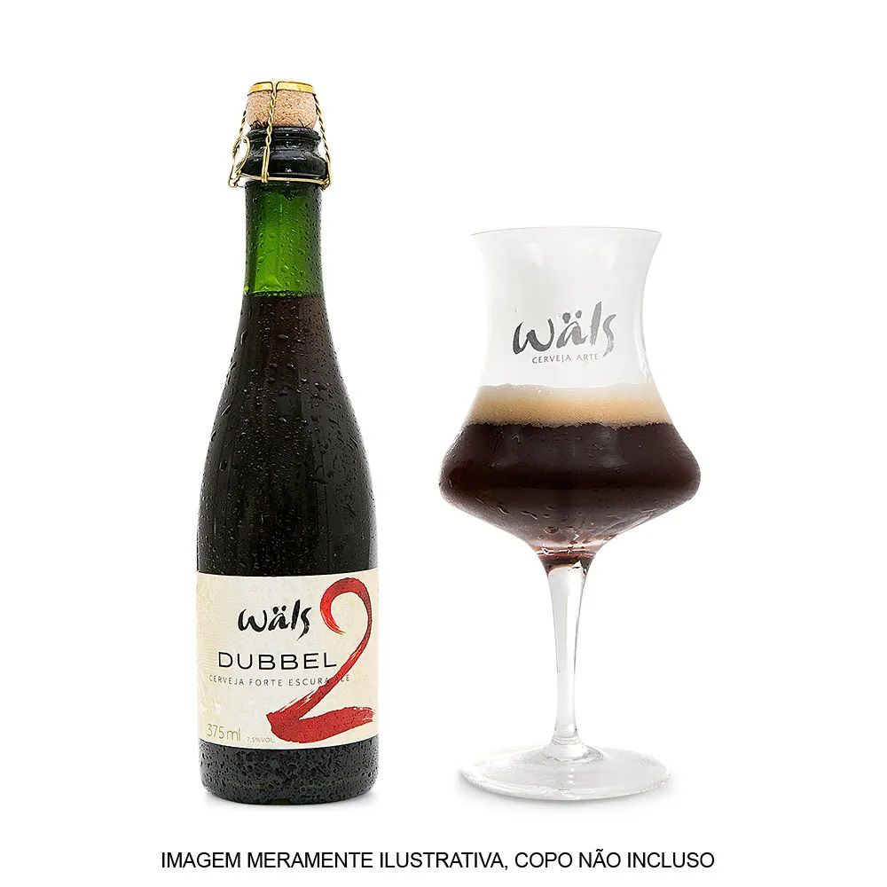 Cerveja Wals Dubbel Forte Escura Ale 375ml