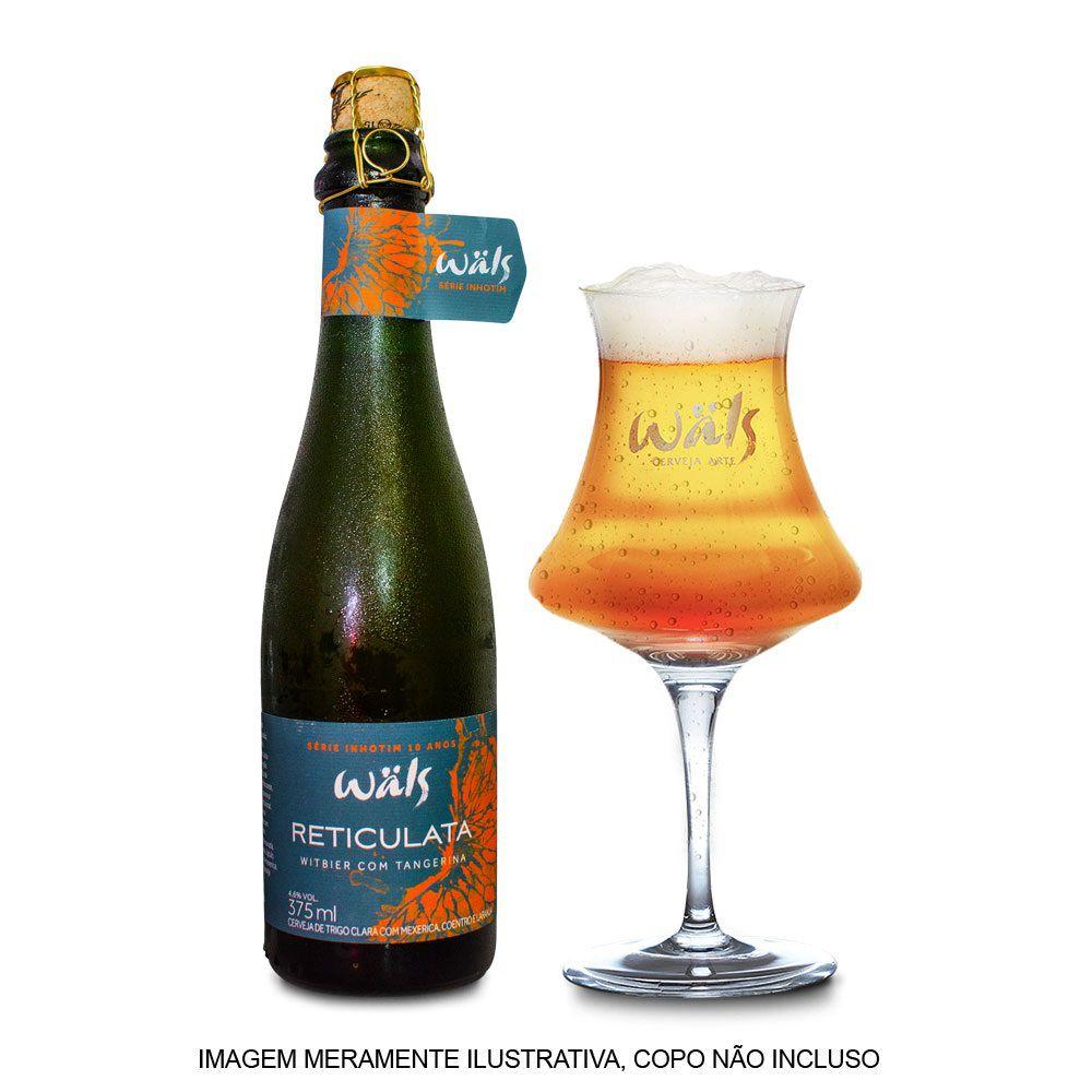 Cerveja Wals Reticulata Witbier Tangerina 375ml