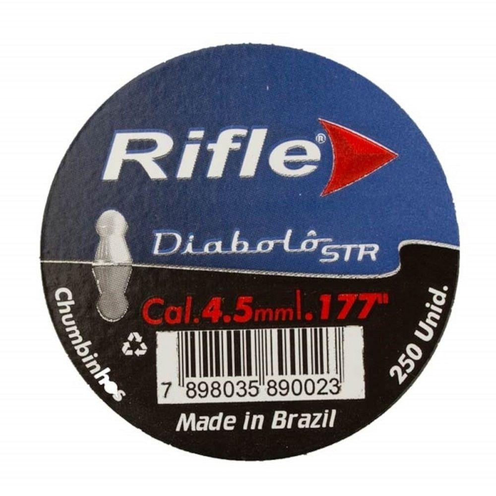 Chumbinho  Rifle Diabolô STR  4.5mm 250 Unidades