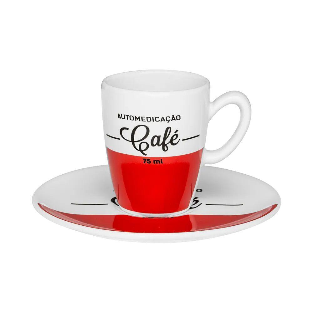 Conjunto de Café Oxford Automedicação 12 Peças