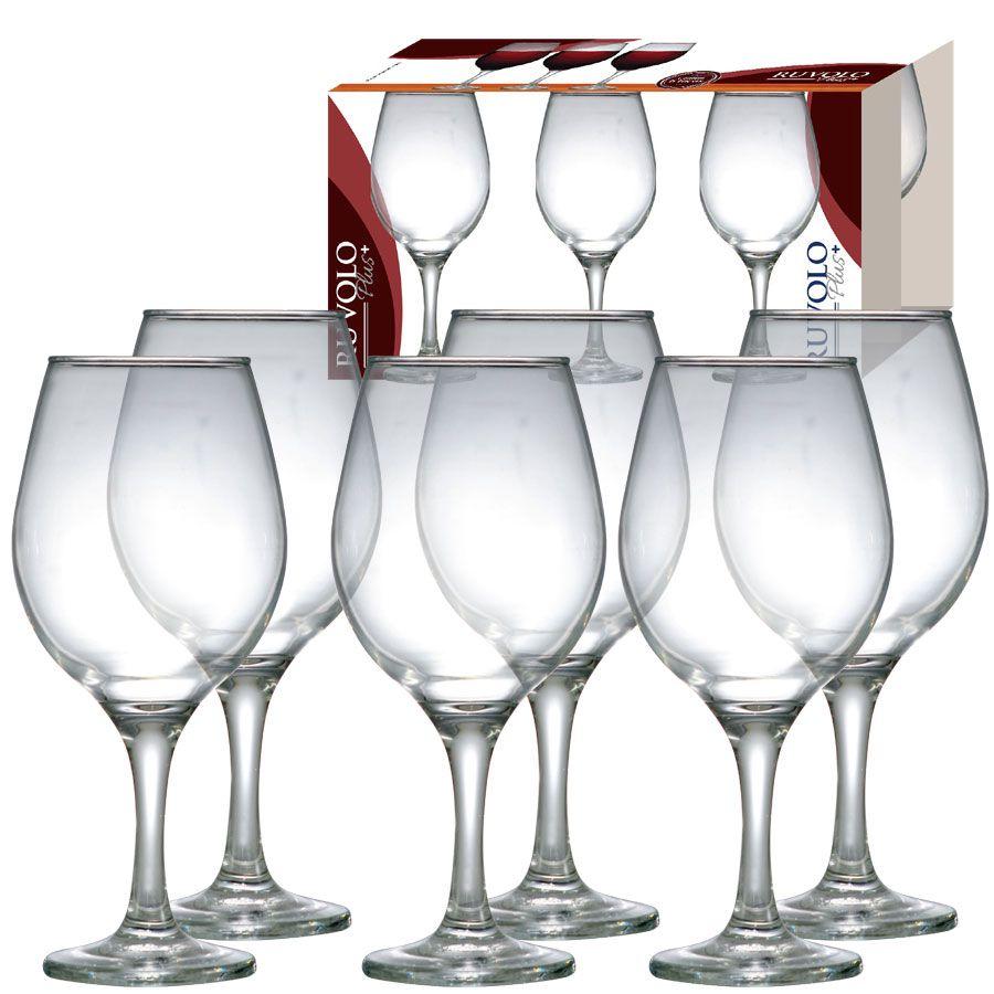 Conjunto de Taças para Vinho One Ruvolo 6 Peças