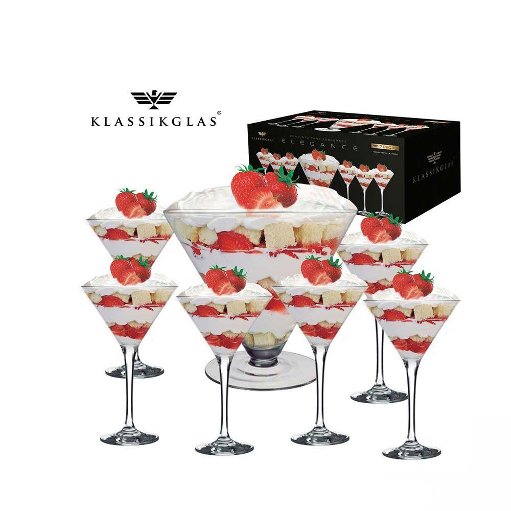 Conjunto para Sobremesa Klassikglas Elegance 7 Peças