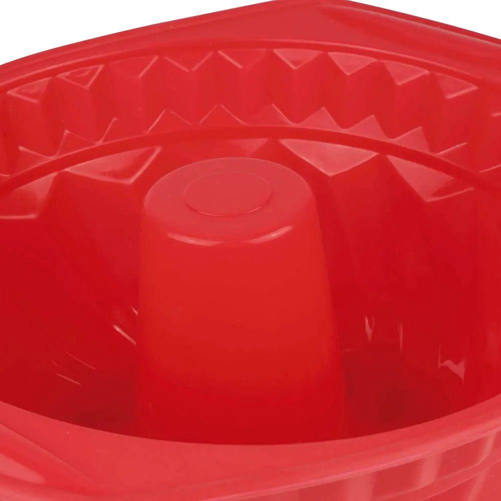Forma de Silicone Redonda Mor 28cm