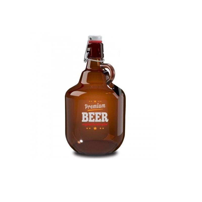 Garrafa Growler Para Cerveja 2 Litros Ruvolo