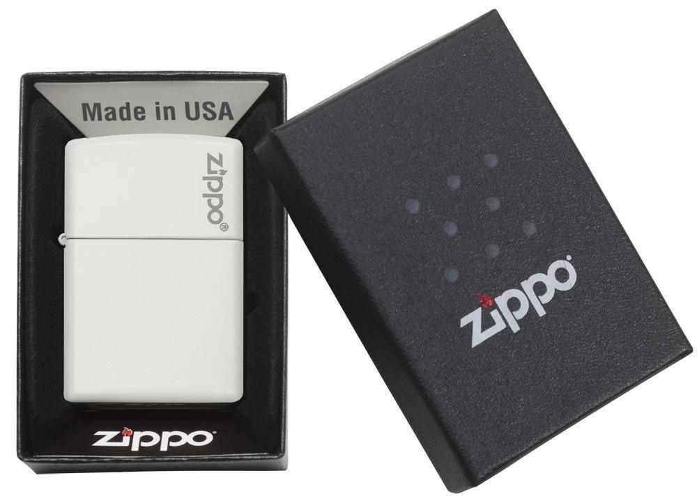 Isqueiro Zippo Branco Fosco Original 214ZL