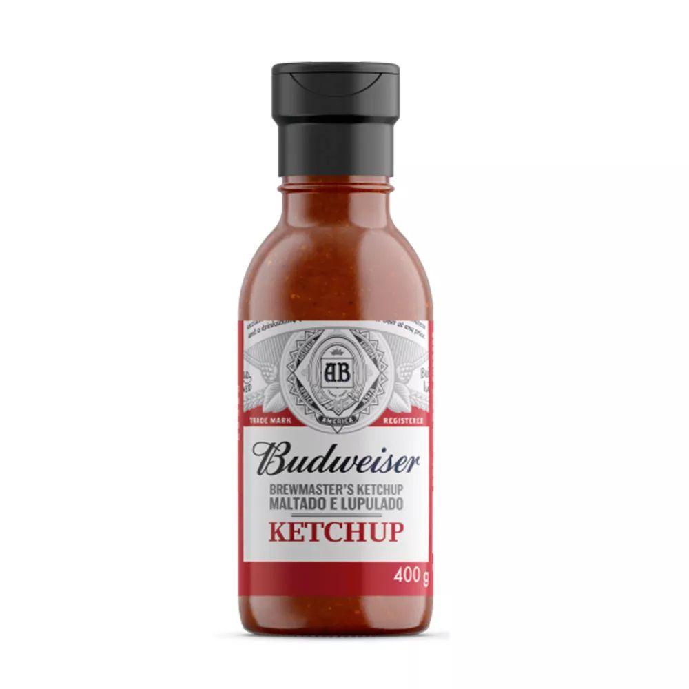 Ketchup Budweiser Maltado e Lupulado 400g