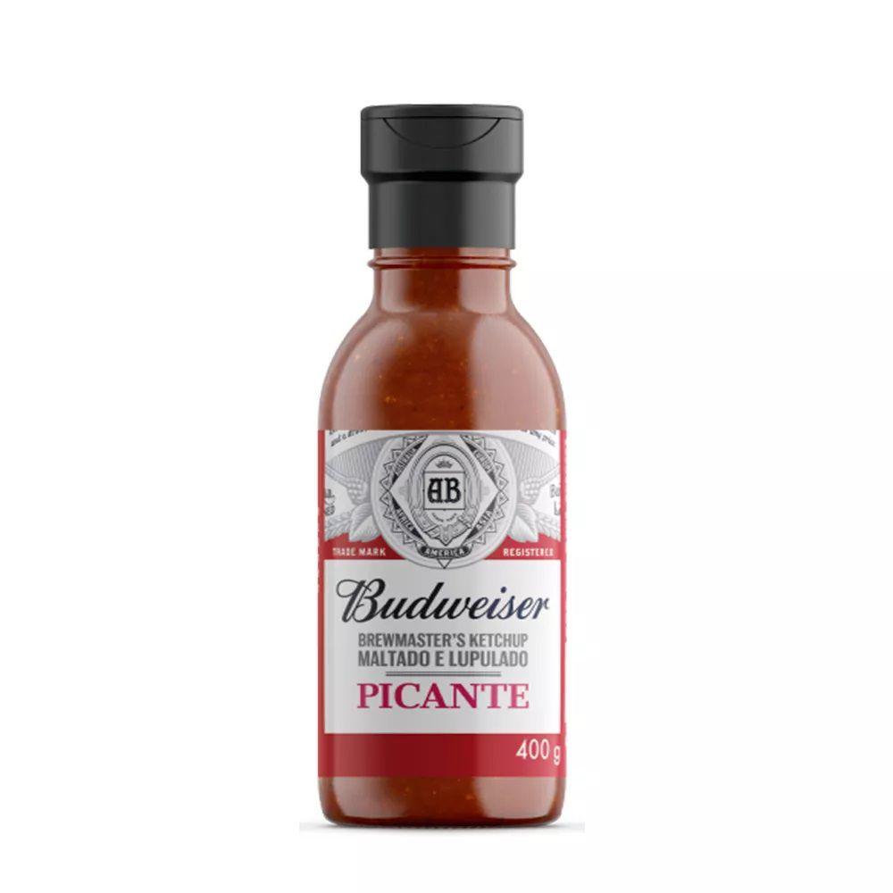Ketchup Picante Budweiser Maltado e Lupulado 400g