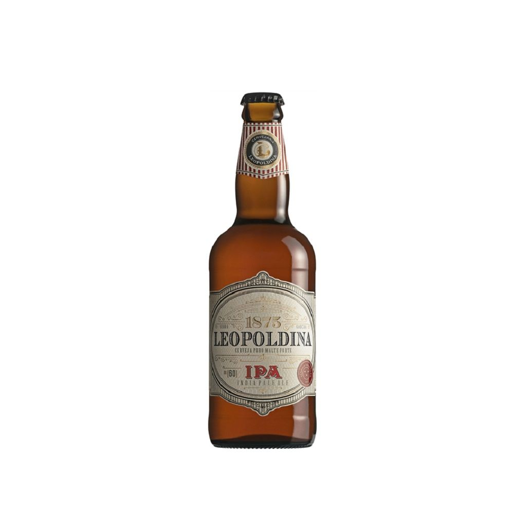 Kit Cerveja Leopoldina Ipa 500ml com copo