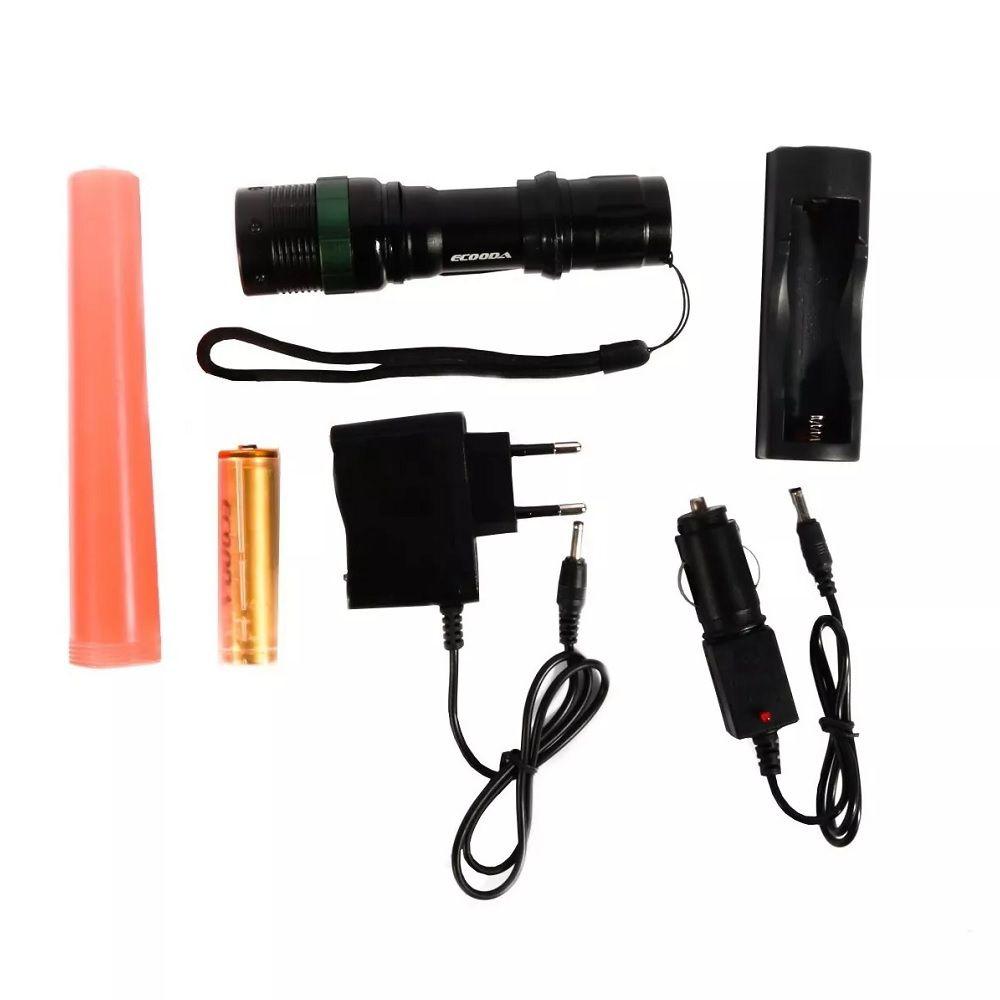 Lanterna Tática Ecooda EC-109 23000 Lumens