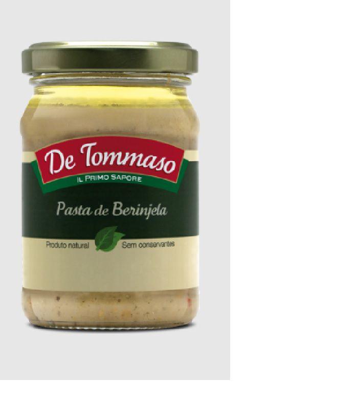 Pasta de Berinjela De Tommas0