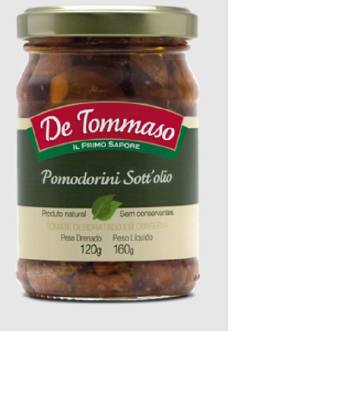 Pomodorini Sott'Olio De Tommaso