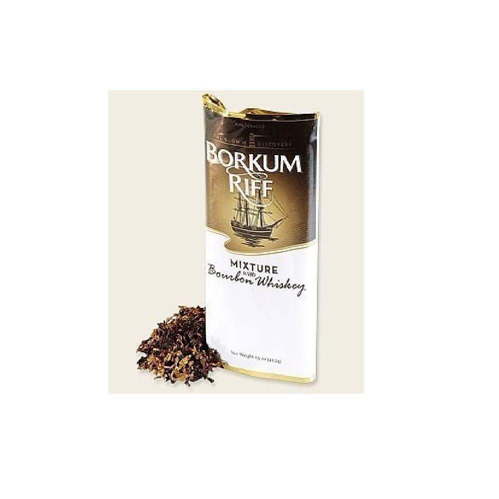 Tabaco Fumo para Cachimbo Borkum Riff Bourbon Whiskey 42.5g