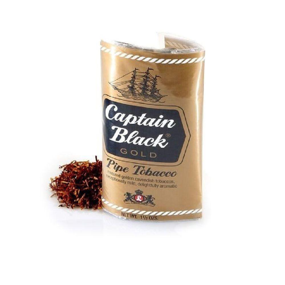 Tabaco Fumo para Cachimbo Captain Black Gold 42.5g