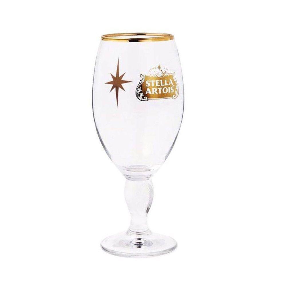 Taça para Cerveja Stella Artois Dourado 330 ml