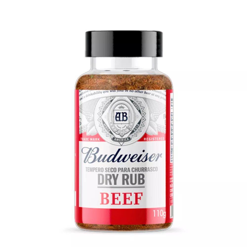Tempero Seco para Churrasco Budweiser Dry Rub Beef 110g