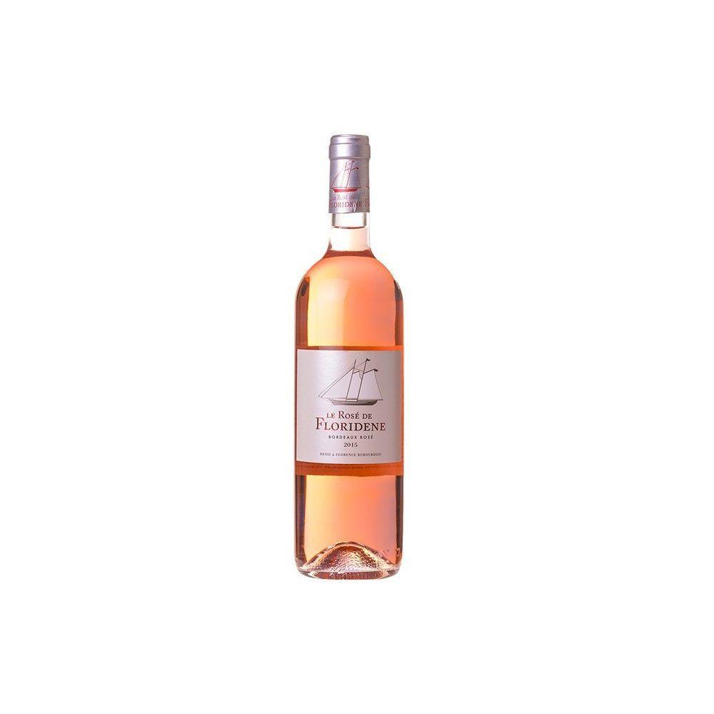 Vinho Rosé Le Rosé de Floridene