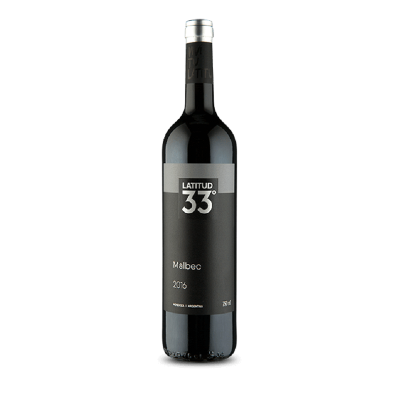 Vinho Tinto Latitud 33º Malbec 2016 750ml