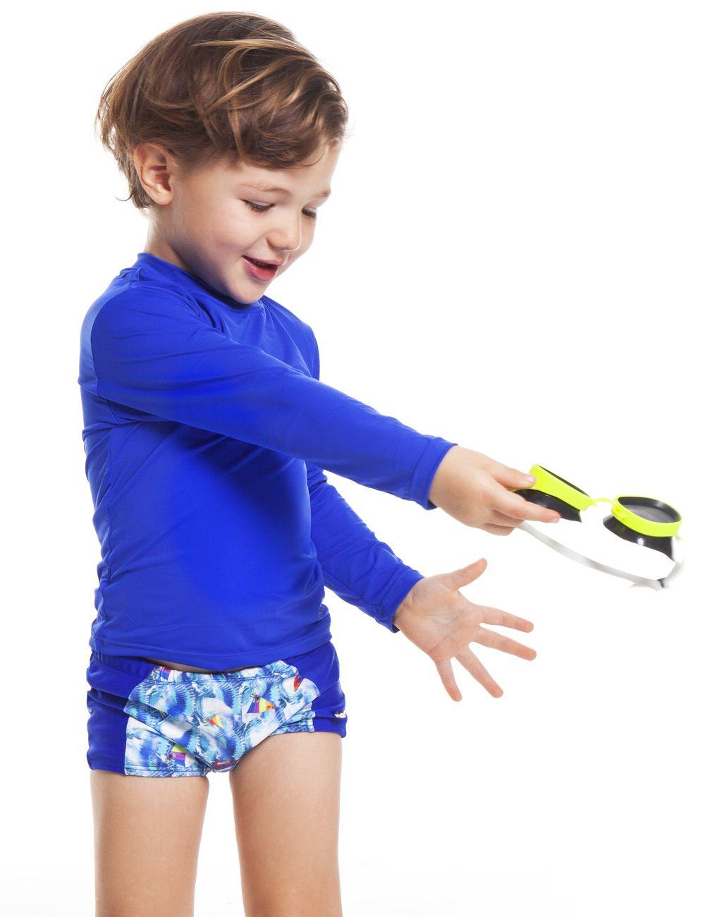 71afe4b192166 Blusa Proteção UV Infantil Unissex - Camboriú