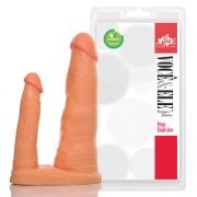 Pênis Duplo Companheiro com 16,5 cm e 11,5 cm - Adão & Eva