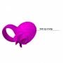 Anel Peniano com Estimulador Clitoriano  Frances - Pretty Love