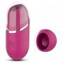 Estimulador de Clitóris Recarregável com Vibro Vinho Amazing - S-Hande