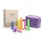 Kit Dilatadores Vaginais Gradativos Coloridos 6 Unidades- A Sós