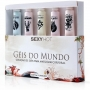 Kit Géis do Mundo com Cinco Bisnagas diferentes de 8g-  Sexy Hot