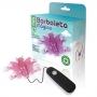 Mini Borboleta Mágica Rosa com 12 Vibrações - Adão & Eva