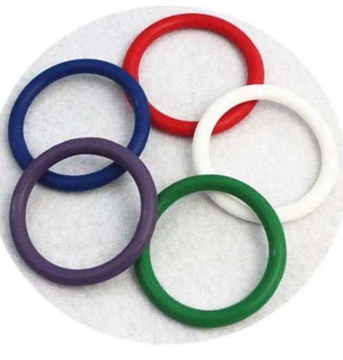 Anel Peniano - Kit Com 5 Peças Colors Retarda Ejaculação