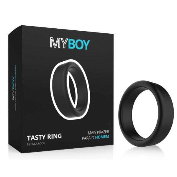 Anel Peniano My Boy Black Tasty Ring - A Sós