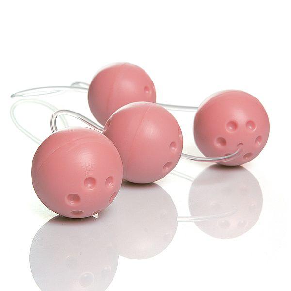 Ben-Wa com 4 Bolas Rosa Bebê - A Sós