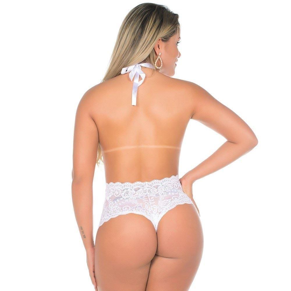 Body Branco Sensual Delírio
